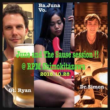 Juna  Serita Jam Session!!