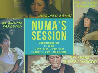 NUMA'S SESSION