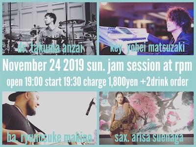 【夜の部】末永ありさ Jam session!!