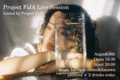 Project FiJA Live Session